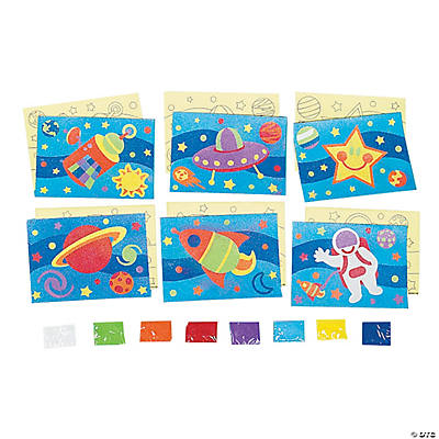 Awesome Outer Space Sand Art Sets