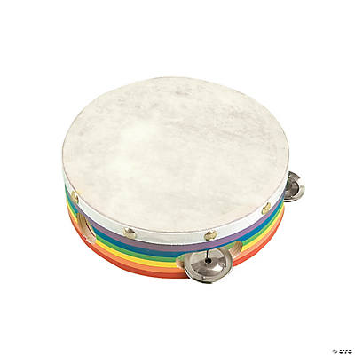Awesome Rainbow Tambourine