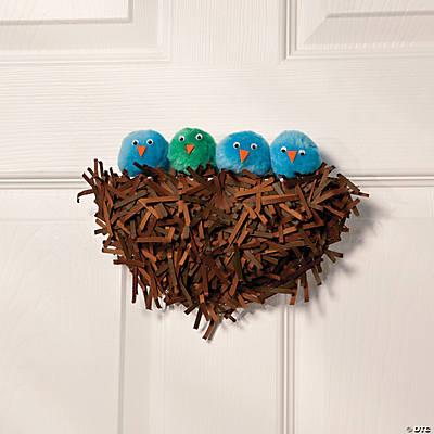 Baby bird nest idea for Baby bird nest craft