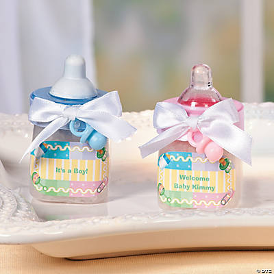 Baby Bottle Favors Idea