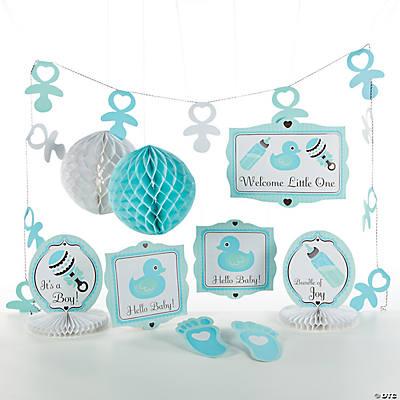 Baby boy decorating kit - Deco baby boy ...