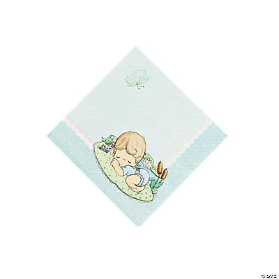 Baby Boy Precious Moments® Baby Shower Beverage Napkins