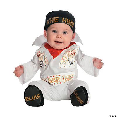 Baby Boyu0027s Elvis Presley Costume  sc 1 st  Oriental Trading & Halloween Baby Costumes for Newborns u0026 Infants | Oriental Trading ...