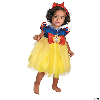 Baby Girlu0027s Disneyu0027s Snow White™ Costume  sc 1 st  Oriental Trading & Halloween Baby Costumes for Newborns u0026 Infants | Oriental Trading ...