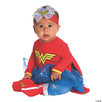 Baby Girlu0027s Wonder Woman Costume  sc 1 st  Oriental Trading : girl crayon costume  - Germanpascual.Com