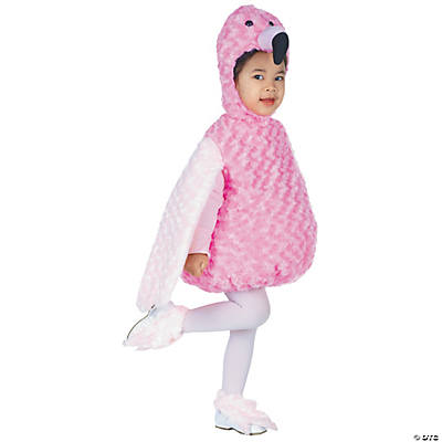 Baby/Toddler Flamingo Costume  sc 1 st  Oriental Trading : minion toddler girl costume  - Germanpascual.Com