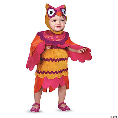 Baby/Toddler Girl's Cute Hoot Owl Costume