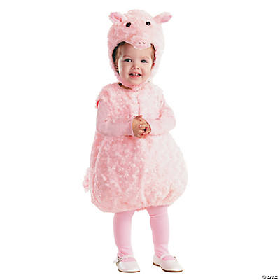 Baby/Toddler Girl's Cute Piglet Costume