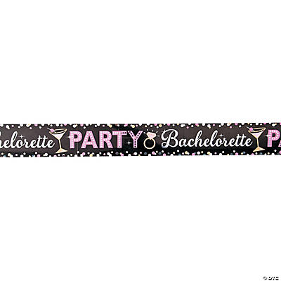 Bachelorette Party Foil Banner