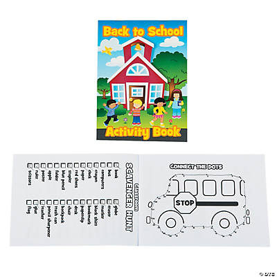 Back to School Activity Books