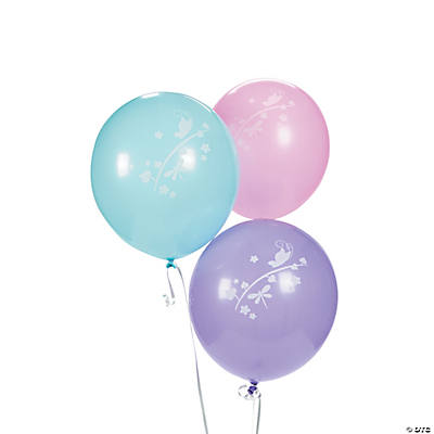 Ballerina Fairies Latex Balloons