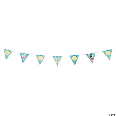 "Ballerina Fairies ""Wish"" Pennant Banner"