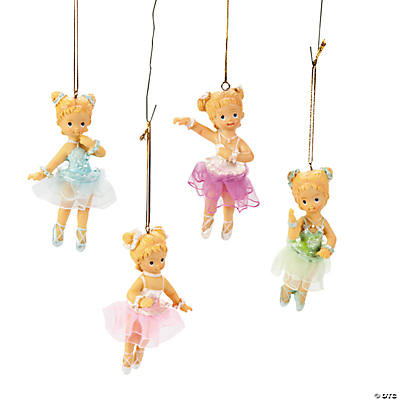 Ballet Girl Ornaments