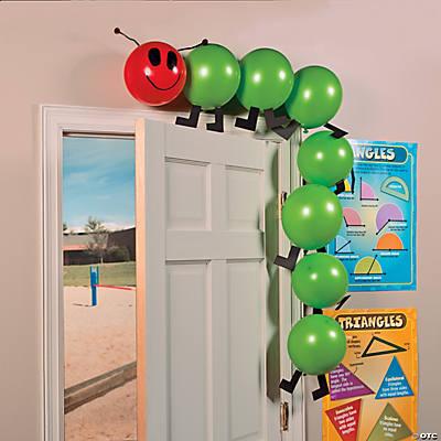 Balloon caterpillar idea for Idea door primary
