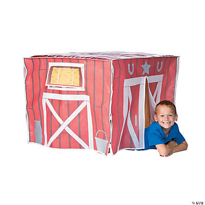 Barn Play Table Tent