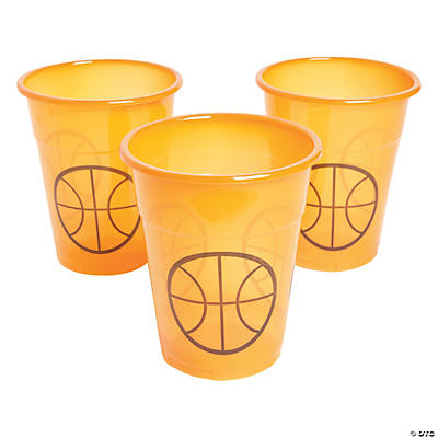Basketball Disposable Cups