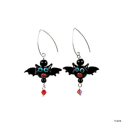 Bat Earrings Idea