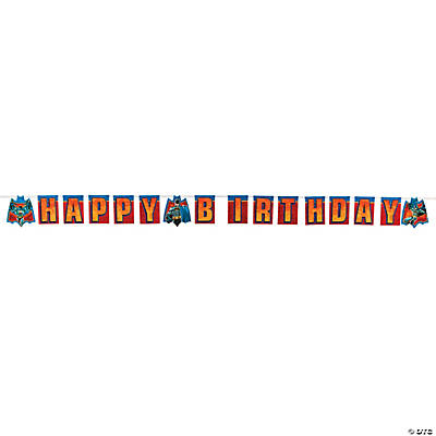 "Batman™ Heroes ""Happy Birthday"" Banner"