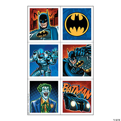 Batman Heroes Stickers