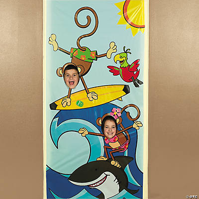 Beach Monkey Photo Door Banner