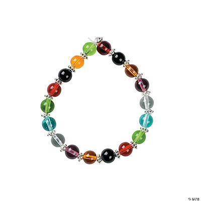 "Color Bead Bracelets Beaded ""colors of"