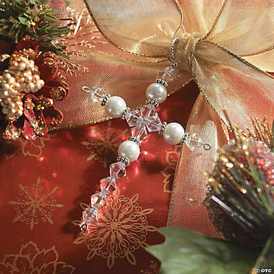 Beaded Cross Ornament Craft Kit