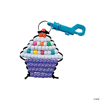 Beaded Cupcake Clip Craft Kit