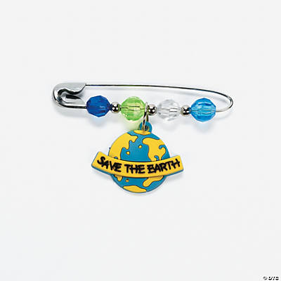 Beaded Earth Day Charm Pin Craft Kit