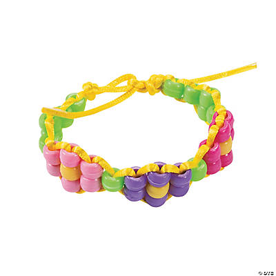 Beaded Flower Bracelet Craft Kit
