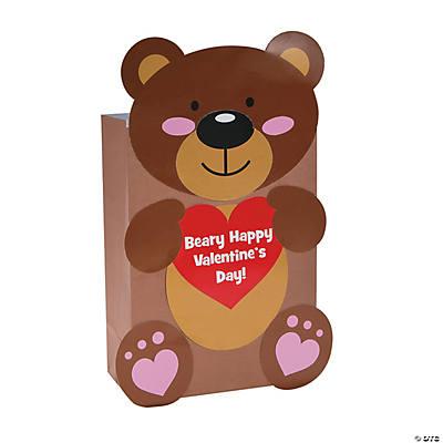 Bear Valentine Card Holder Craft Kit  Oriental Trading  Discontinued