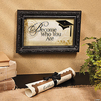 """Become Who You Are"" Wall Décor"
