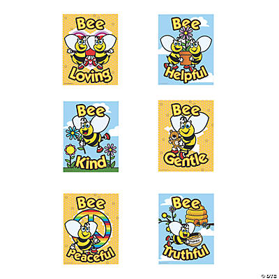 Bee Character Posters