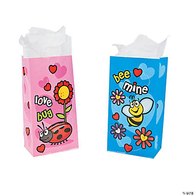 Bee My Valentine Treat Bags