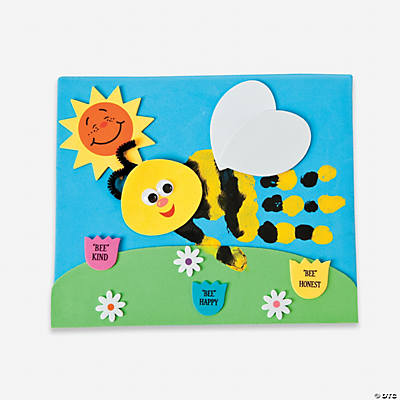 """Bee Your Best"" Handprint Craft Kit"