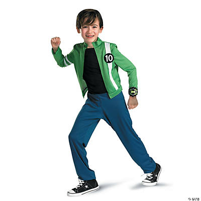 Ben 10 Alien Force Classic Costume for Boys