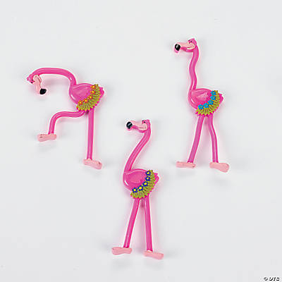 Bendable Flamingos
