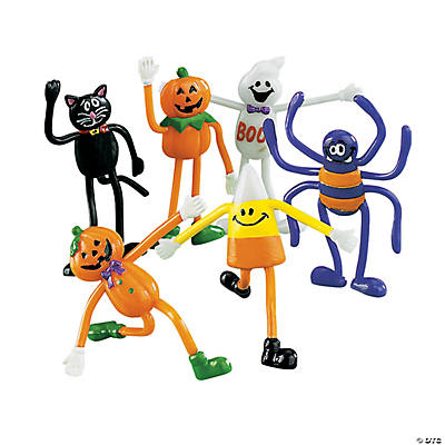 Bendable Halloween Characters
