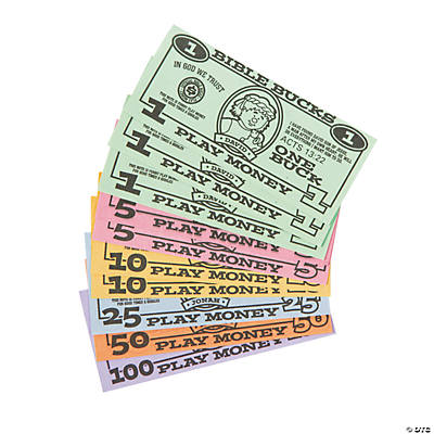 Bible Bucks Play Money