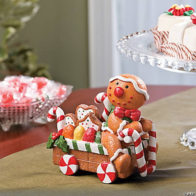 Big Head Gingerbread Man Tabletopper