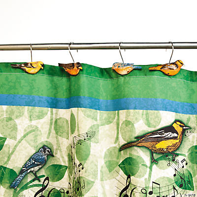 Curtains Ideas bird shower curtain hooks : Bird Shower Curtain Hooks - Oriental Trading - Discontinued