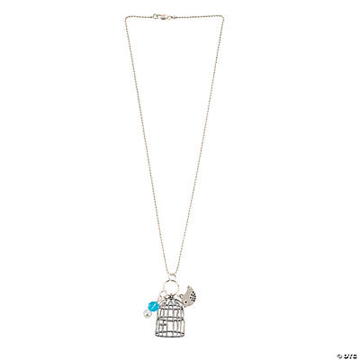 Birdcage Charm Necklace Kit