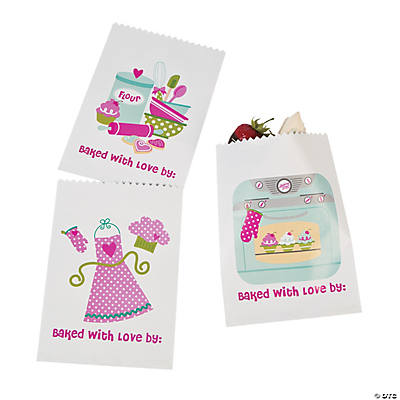 Birthday Bakery Cake Bags