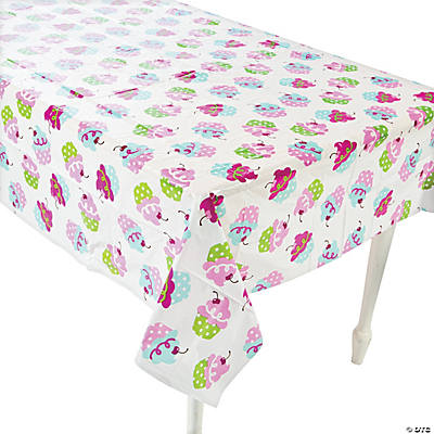 Birthday Bakery Tablecloth