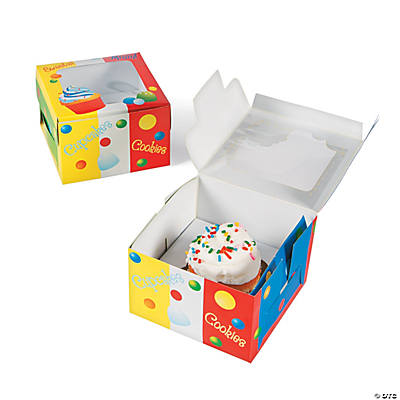 Birthday Cupcake Boxes