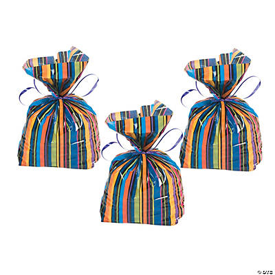 Birthday Pattern Cellophane Bags