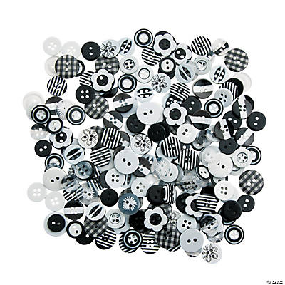 Black & White Button Assortment