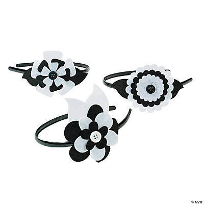 Black & White Headband Craft Kit