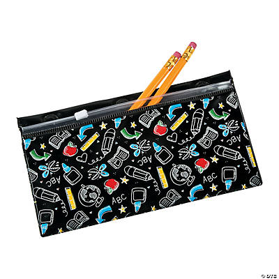 Black & White Magnetic Pencil Cases