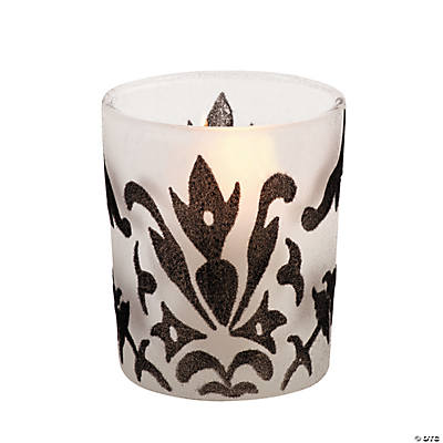 Black & White Votive Holders