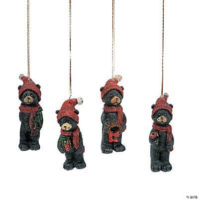 Black Bear Ornaments